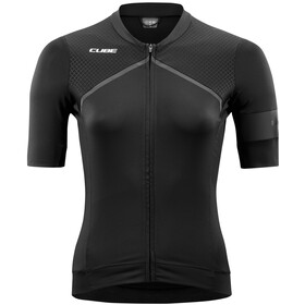 Cube Blackline Jersey shortarm Women black